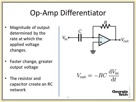 op capacitor resistor me 6405 operational lifiers 10 2 12 ppt