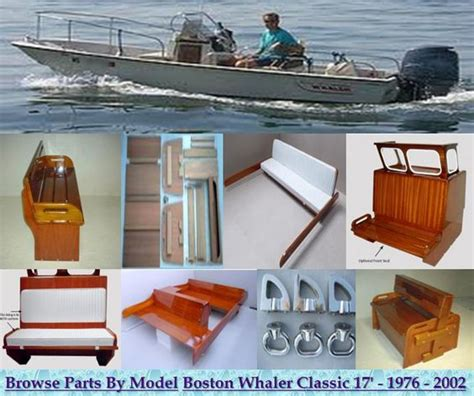 whaler boat parts boston whaler classic 17 montauk parts and accessories