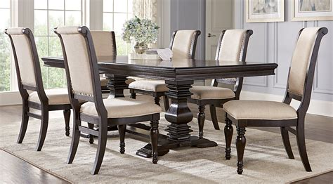 dining room l westerleigh oak 5 pc rectangle dining room dining room