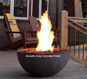 Gas Pit Bowl Decorative Concrete Bowl Outdoor Gas Pit S Gas
