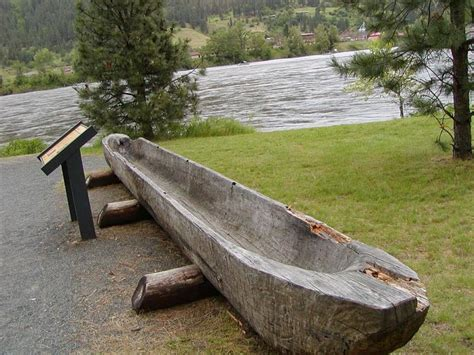 the pennsylvania dugout canoe project - Small Boat Used By The Karankawa