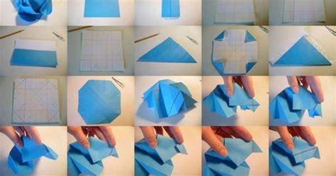 Easy Origami Roses - origami easy origami flower easy