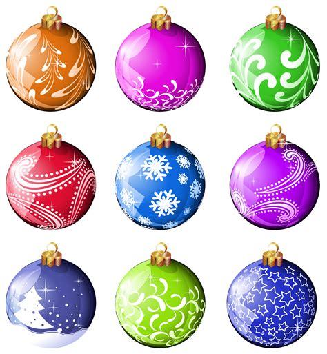 Christmas Balls Clipart Free Christmas Ornaments Clip Art
