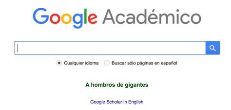google design que es qu 233 es google acad 233 mico y como utilizarlo