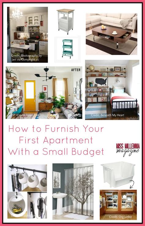 furnishing a small apartment how to furnish your apartment with a small budget