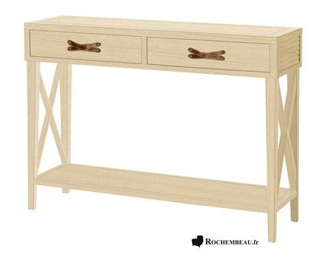 console bois 902 meuble console tablette 233 troite en bois massif avec