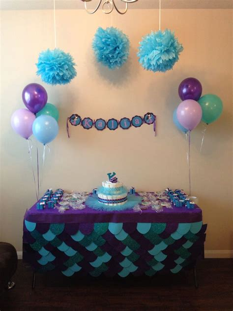 Mermaid Baby Shower Decorations by 71 Best Images About Babyshower Ideas On