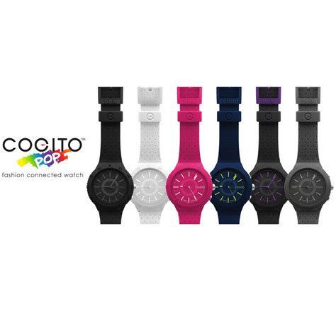 Dijamin Smartwatch Cogito Pop Fashion Connected cogito pop fashion connected raspberry crush