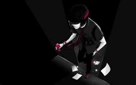 wallpaper anime black black anime wallpaper desktop wallpapers pinterest