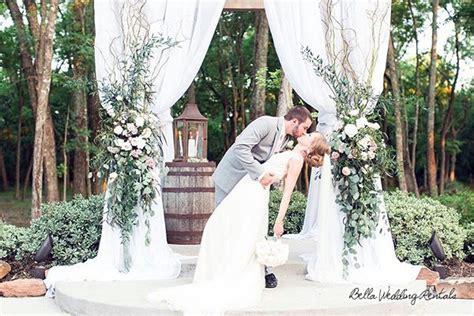 Wedding Ceremony Arch Rental by Wedding Rentals Wedding Altars Aisle Decor Wedding