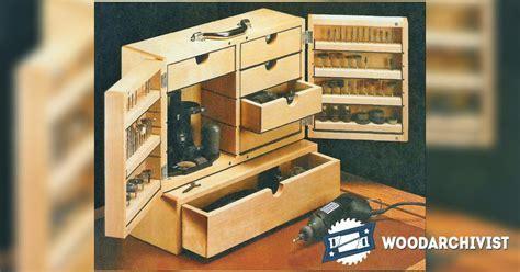 Dremel Storage Case Plans ? WoodArchivist