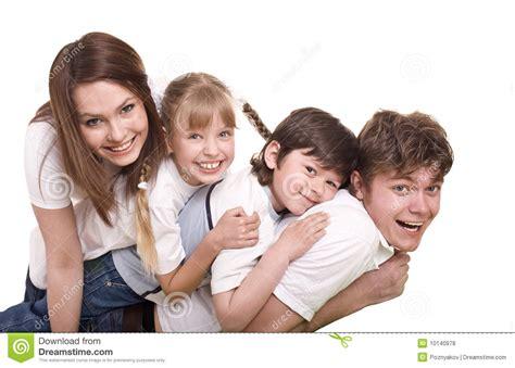 imagenes hijos felices madre padre hija e hijo felices de la familia foto de