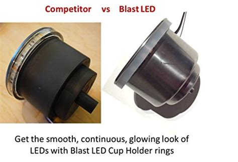 BLAST LED   RGB LED Cup holder light ring   BOAT RV ATV
