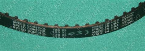 Timing Belt Xl 037 120 speed 120xl timing belt 037mc new