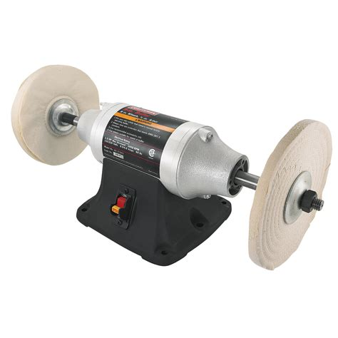 bench grinder and buffer craftsman 8 quot bench buffer 21181 shop your way online