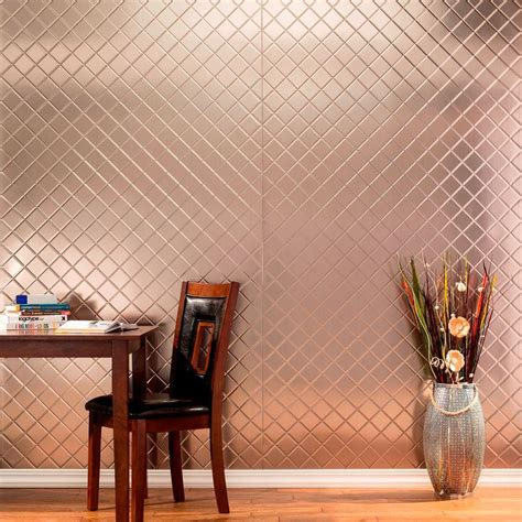 Home Decor Wall Panels by Fasade 96 In X 48 In Quilted Decorative Wall Panel In Matte White S54 01 The Home Depot