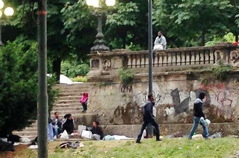 parco porta venezia eritrei a porta venezia piano per accogliere i profughi