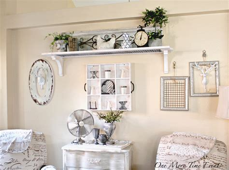 how to decorate a large wall farmhouse style