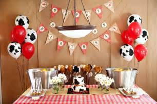 cowboy birthday ideas the house decorating