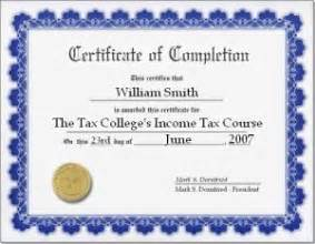 free tax training course