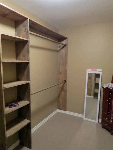 build walk in closet 25 best ideas about build a closet on pinterest