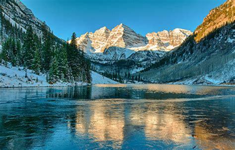imagenes de paisajes con nieve fondos de pantalla lago monta 241 as fotograf 237 a de paisaje