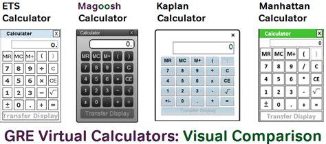 calculator on gre the gre calculator online