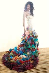 colorful dress alternative colourful wedding dresses from chrissy wai
