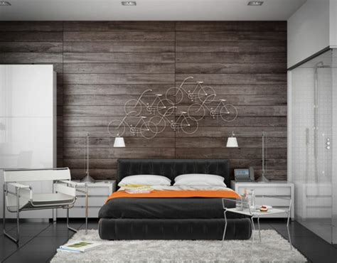 bedroom wall panels 63 wall panels wood the room very individual appearance