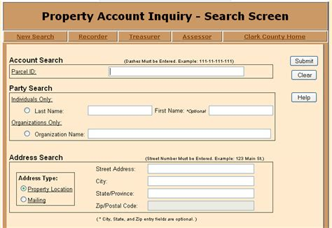 Clark County Nevada Property Tax Records Nevada Property Tax Homes Nv