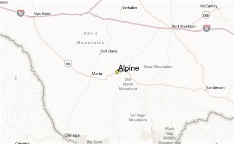 map of alpine texas alpine weather station record historical weather for alpine texas