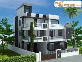 modern house plans free 7 bedroom modern triplex 3 floor house design area
