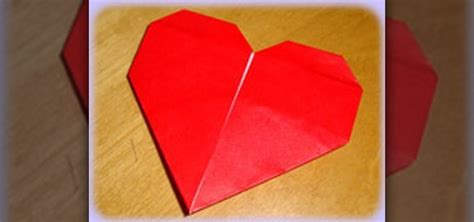 Fold Paper Hearts - how to fold a simple origami 171 origami