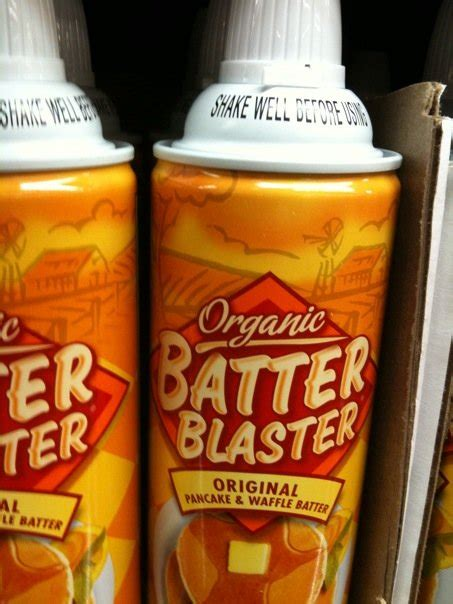 Would You Use Batter Blaster by What Exactly Is Organic Propellant
