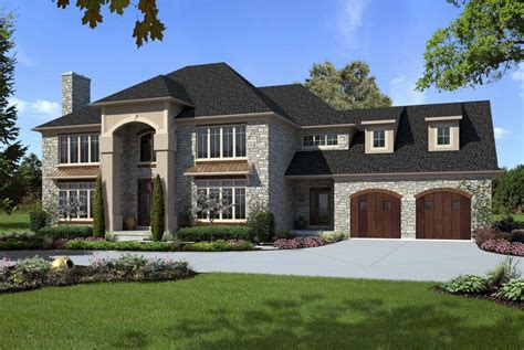 custom home design ideas custom luxury home designs with gray and brown colors