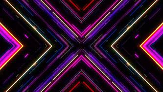 neon lights motion graphic background vj neon lights tunnel footage