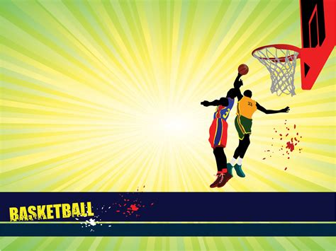Sports Basketball Powerpoint Templates Blue Red Sports Yellow Free Ppt Backgrounds And Sports Powerpoint Templates
