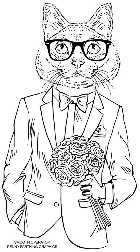 cat coloring sheets cat from smooth operator would to buy these cat