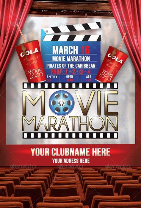 Movie Flyer Template