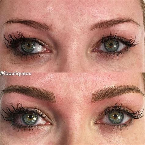 tattoo eyeliner touch up 28 best feather touch brow tattoo by bree images on