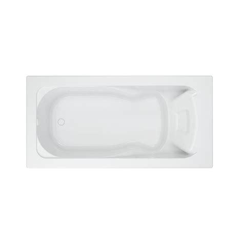 American Bathtub by American Standard Cadet 6 Ft Acrylic Reversible Drain