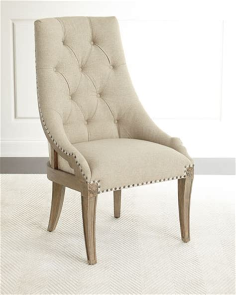 dining chairs leather acrylic dining chairs at neiman