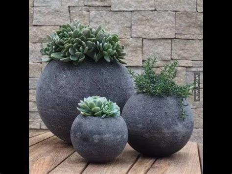 mudah membuat pot bunga  semenpart