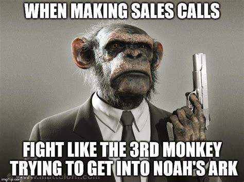 Making Meme - sales monkey imgflip