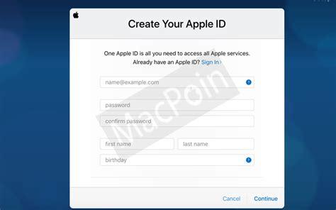 bagaimana cara membuat email icloud tutorial cara membuat akun icloud dari web macpoin