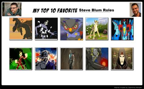 my top 10 favorite steve blum roles by dragonprince18 on deviantart