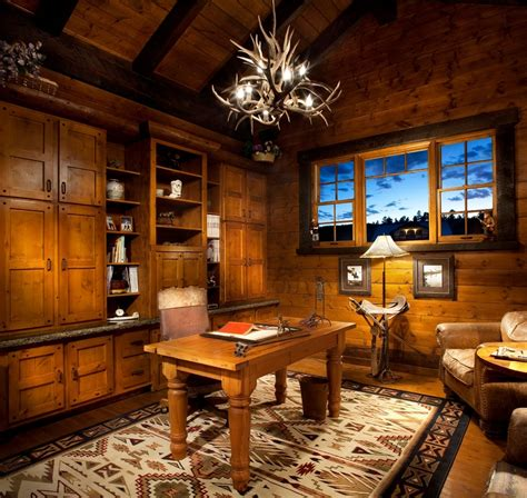 Home Office Ideas Rustic 25 Brilliant Rustic Home Office Decorating Ideas Yvotube