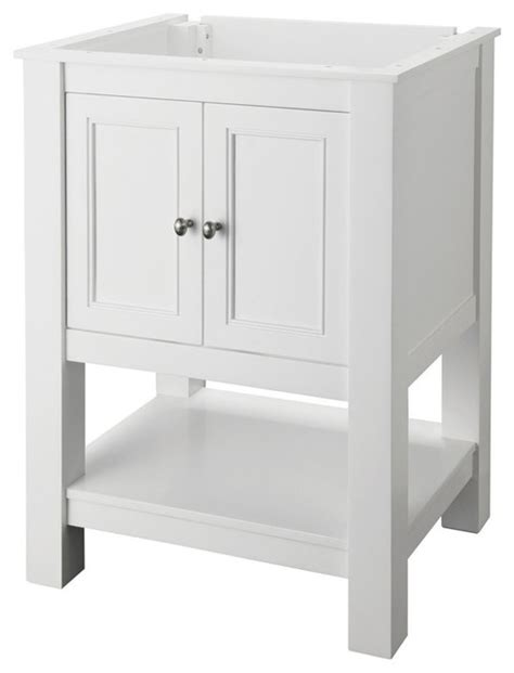 24 X 18 Vanity by Foremost Gazette Vanity Cabinet Only In White