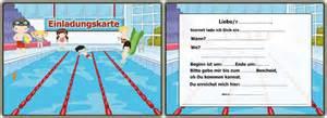kindergeburtstag im schwimmbad einladungskarten zum geburtstag einladungskarten