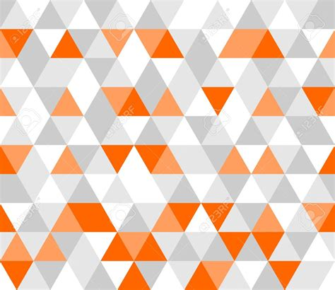 geometric pattern orange 30602475 colorful tile vector background illustration grey